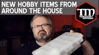 New Wargaming Hobby Items From Around the House