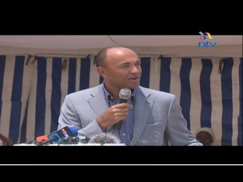 Peter Kenneth joins Jubilee, set to vie for Nairobi governorship