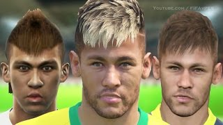 Neymar From PES 2011 to PES 2015 | HD 1080p
