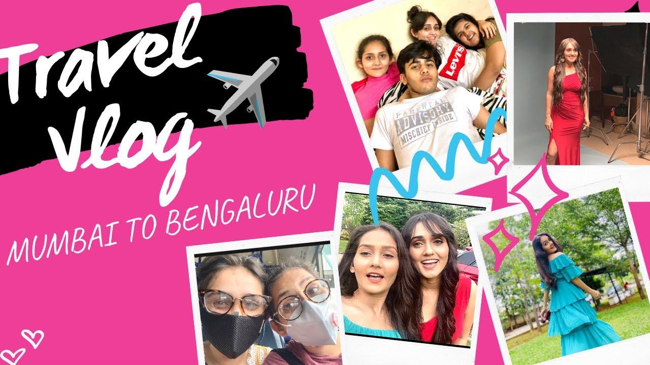 Travelling During Lockdown |Mumbai to Bengaluru vlog| Sharma Sisters | Tanya Sharma | Kritika Sharma