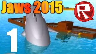 [ROBLOX: Jaws 2015] - Lets Play Ep 1 - Friend Falls Asleep