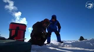 Рыбалка в Якутии с французами! Yakutia