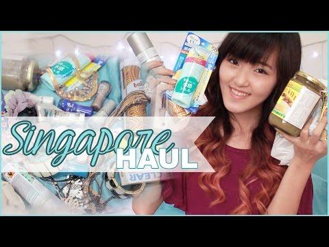 Singapore HAUL (Beauty, Fashion, Food, Misc) | Cotton On, Bugis Street, Watsons, etc