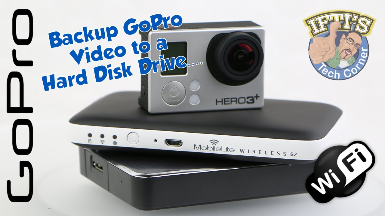 video gopro su hard disk