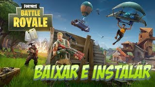 HOW TO DOWNLOAD INSTALL AND CREATE ACCOUNT IN THE GAME FORTNITE BATTLE ROYALE [PC-PTBR]