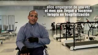 Víctor Colmenares- rehabilitación de lesión medular