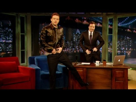 Justin Timberlake's Jimmy Fallon Impression (Late Night with Jimmy Fallon)