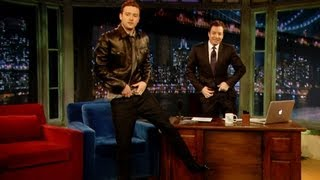 Justin Timberlake's Jimmy Fallon Impression (Late Night with Jimmy Fallon) thumbnail