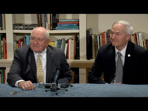 Press Conference with USDA Secretary Sonny Perdue