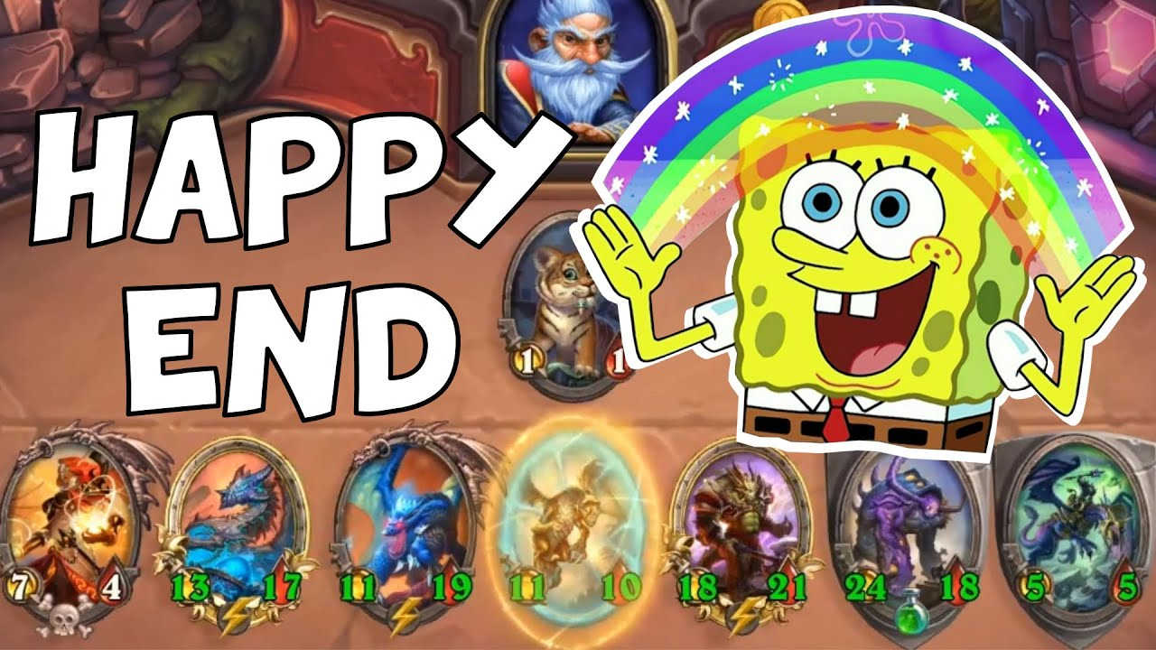 HAPPY END! - Hearthstone Battlegrounds