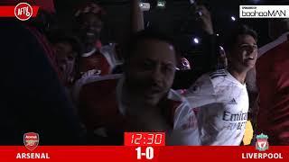 Aubameyang Scores | Arsenal 1-0 Liverpool | FA Community Shield