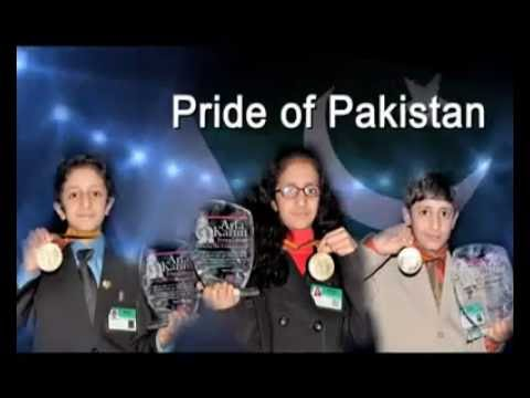Pride of Pakistan,Best Pakistani Family,Syedain Kids,Rooma Syedain,World Yongest Certified Ethical H