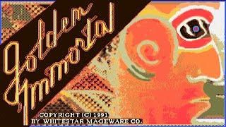 Dos Madness | Golden Immortal (1991) The first CD-rom PC Game