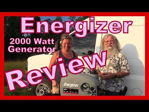 Energizer 2000 Watt Generator 6 Month Review