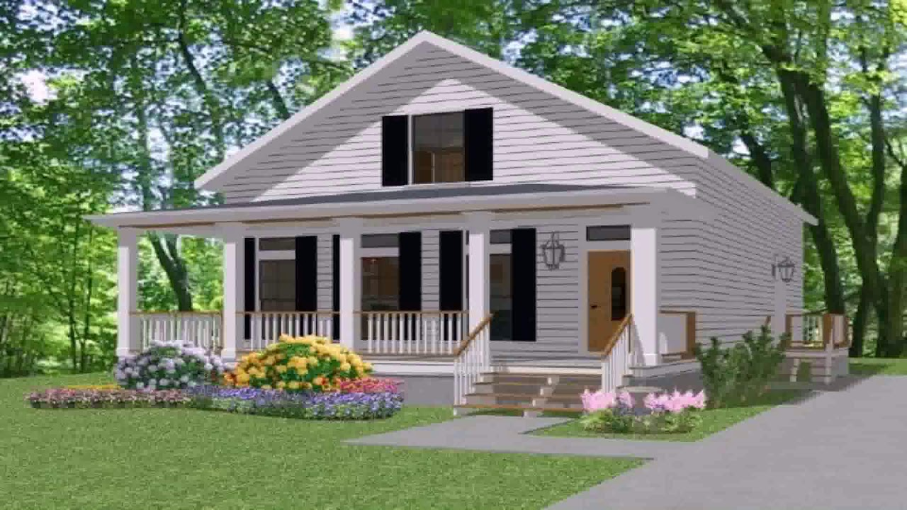Small house plans that are cheap to build youtube for Most inexpensive house plans to build