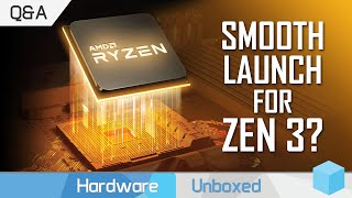 Will RDNA2 and Zen 3 Have Launch Issues? Can AMD Beat Nvidia at Ray Tracing? September Q&A [Part 3]