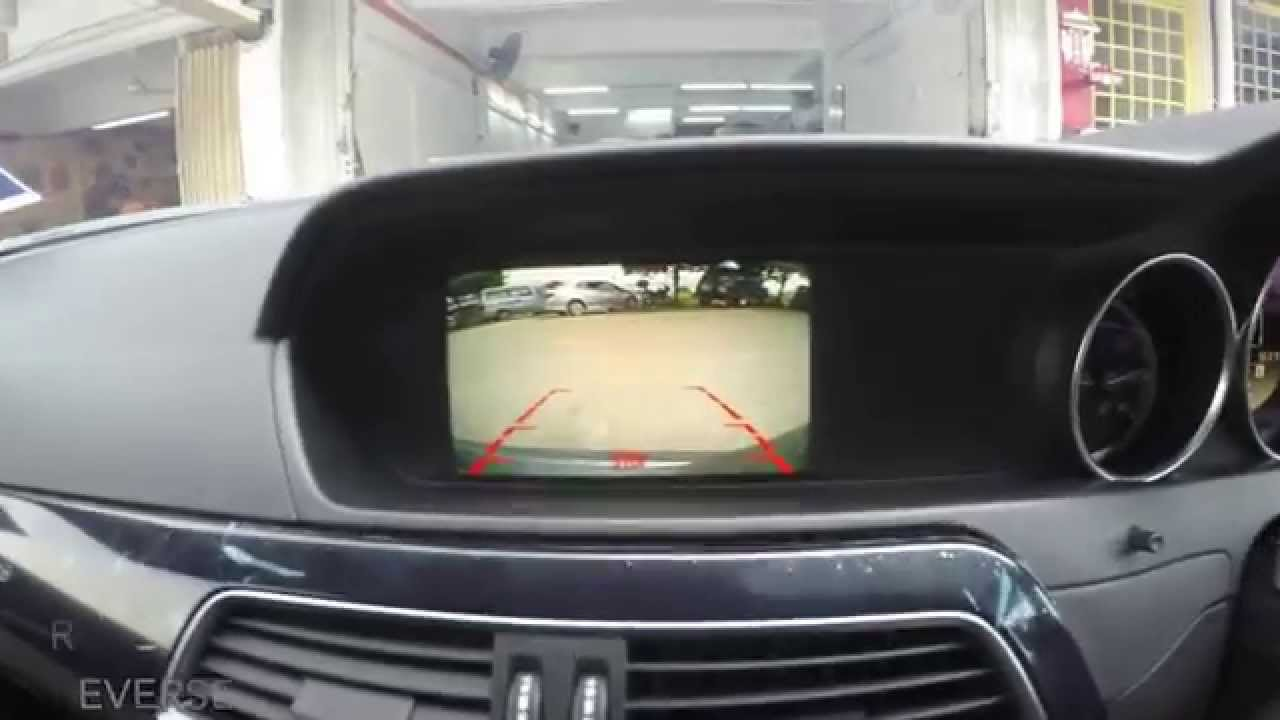 Mercedes C Class W204  Rear camera  YouTube