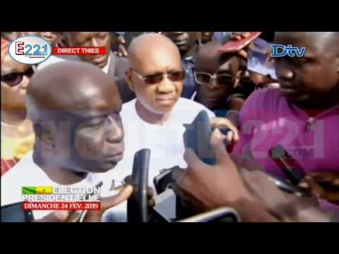 Déclaration Idrissa Seck, candidat de la coalition ''Idy 2019''