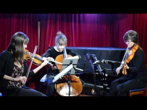 Gubaidulina String Trio, 1st movement