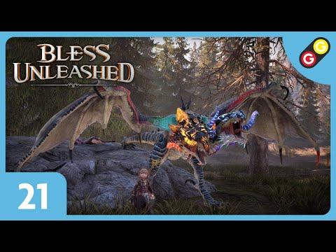 Bless Unleashed #21 On combat une vouivre ! [FR]