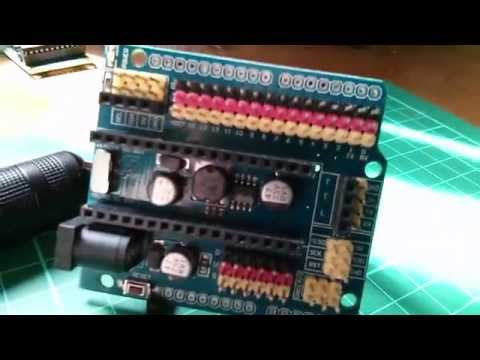 Arduino Nano Tutorial - Breakout Board with 2A SMPS #1