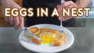 Download Binging with Babish: Eggs in a Nest from Lots of Stuff Mp3 and Videos