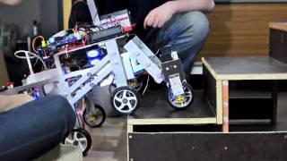 Heriot-Watt EPS Mechanical Engineering, Stair climbing Robot Shrimp 2011