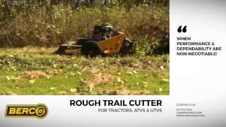 Berco | 44'' Rough Trail Cutter for Tractors, ATVs & UTVs