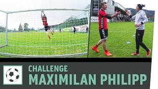 Tor-zu-Tor-Challenge vs. Profi Maximilian Philipp | SC Freiburg | Kickbox