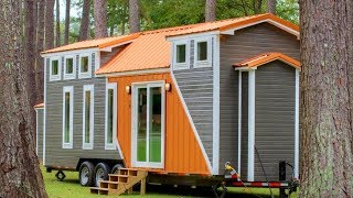 The 28 Trinity V2 Tiny House On Wheels By Alabama Tiny Homes | Living Design For A Tiny House