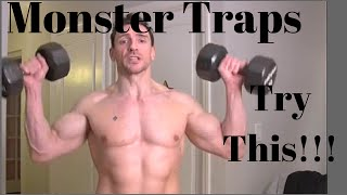 How To Get Big Traps Trick To Big Traps - Best Trap Workout