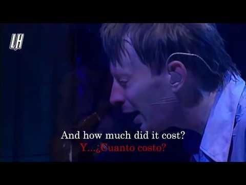 Radiohead Sail to the moon Subtitulado en Español + Lyrics