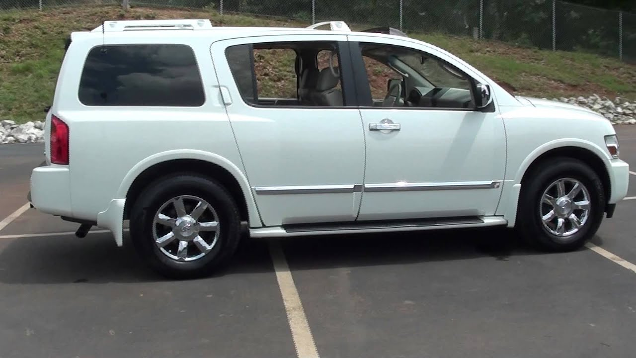 Infiniti Qx56 For Sale >> FOR SALE 2005 INFINITY QX56,LUXURY SUV !!! HAIL DAMAGE,PRICED RIGHT!! STK# 11737B - YouTube
