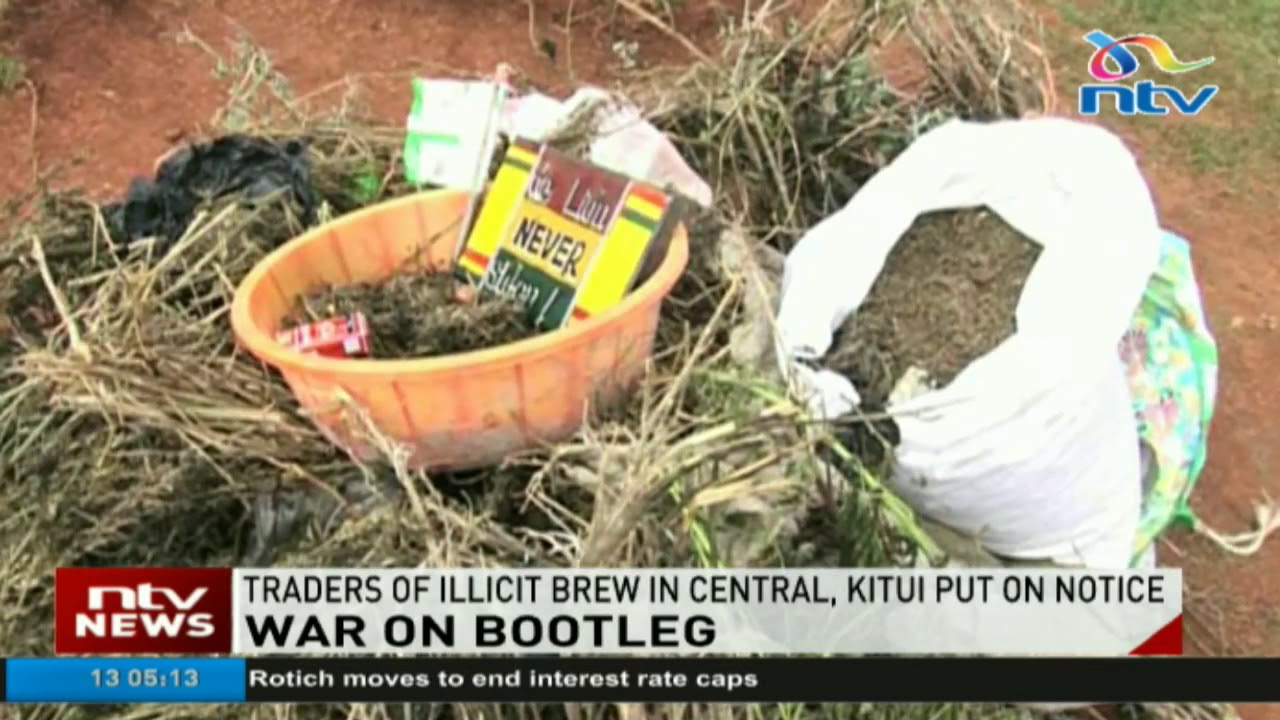 Traders of illicit brew in Central, Kitui put on notice