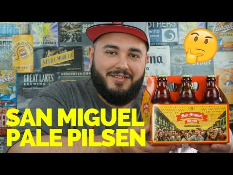 SAN MIGUEL PALE PILSEN BEER REVIEW | VIEWERS CHOICE