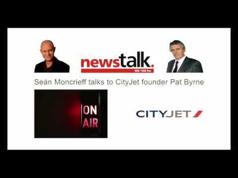Newstalk's Seán Moncrieff talks to CityJet founder Pat Byrne.