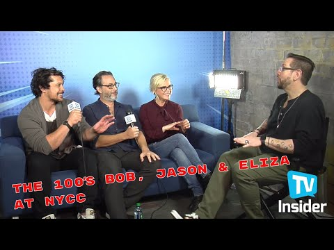 The 100s Bob Morely, Eliza Taylor & Jason Rothenberg Talk Season 6 | TV Insider