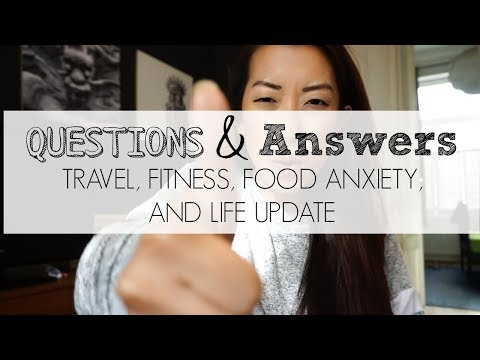 Q&A: Food Anxiety, Balancing Fitness and Travel, Money Saving Tips, and More!