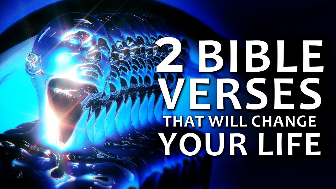 2 BIBLE VERSES that CHANGED My Whole LIFE | 2 POWERFUL VERSUS