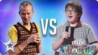 Robert White vs Jack Carroll | Britain's Got Talent World Cup 2018