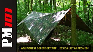 Aquaquest Defender King Camo: The Chuck Norris of Tarps- Preparedmind101