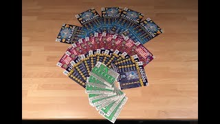 WOW ALL THE NEW SCRATCHCARDS