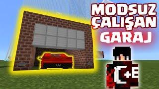 Minecraft PE Modsuz Garaj Yapımı [Komut Bloğu İcatları]