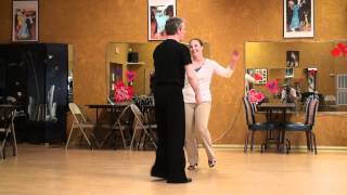 Rumba Lesson 35, Side By Side Walks with Spiral Turn