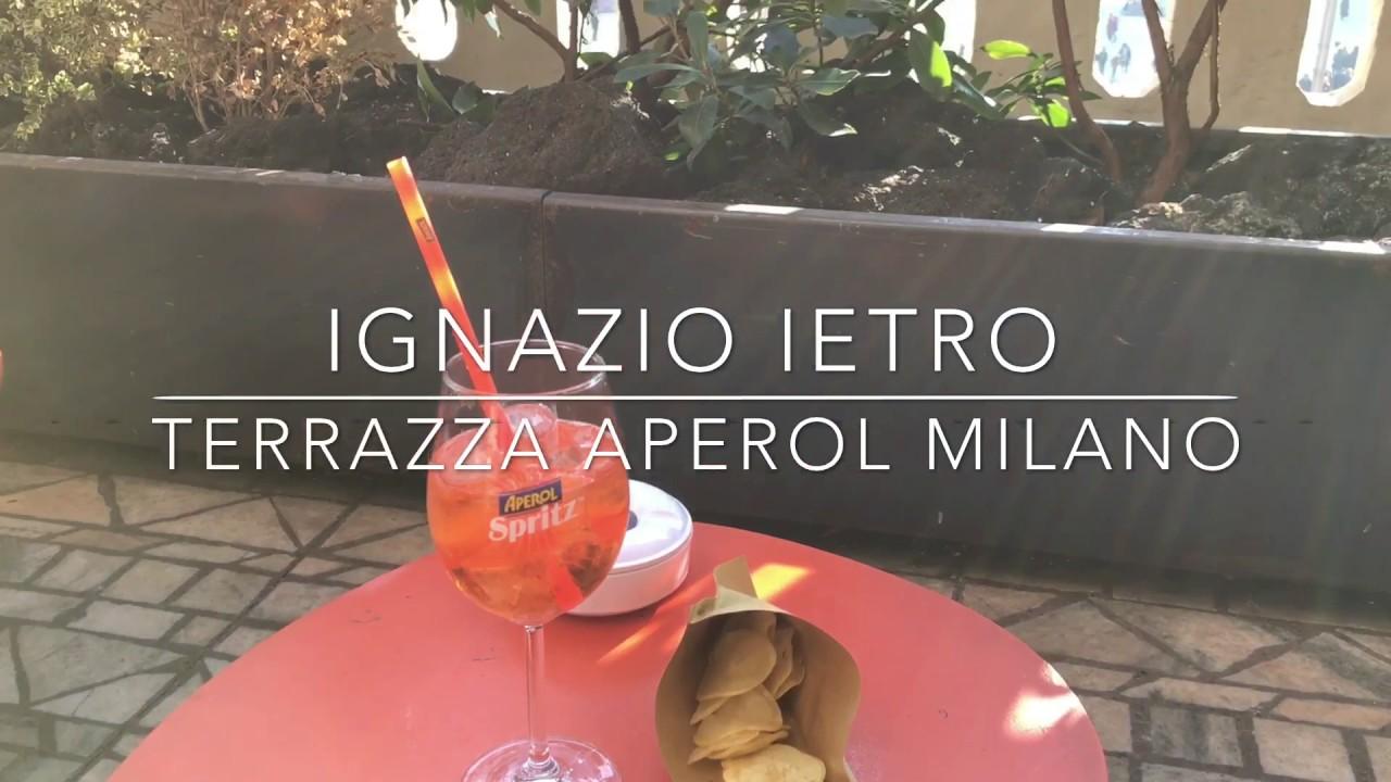 Terrazza Aperol Milano - YouTube