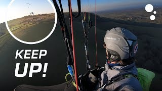 KEEP UP: How to get higher when paragliding in light lift