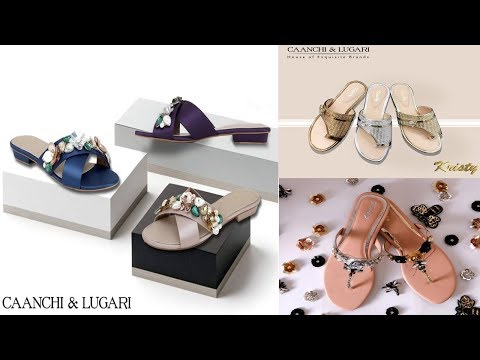 Latest Caanchi & Lugari Flat Sandals Designs Collection | Fashion World from YouTube · Duration:  2 minutes 54 seconds