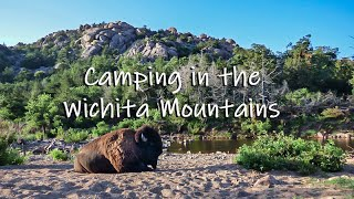 Camping in the Wicнita Mountains