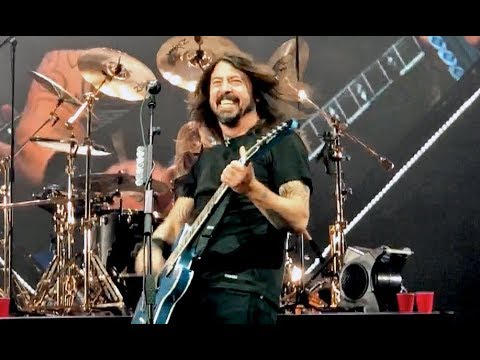 Foo Fighters - Run - All My Life - Learn To Fly - April 26, 2018 West Palm Beach Florida