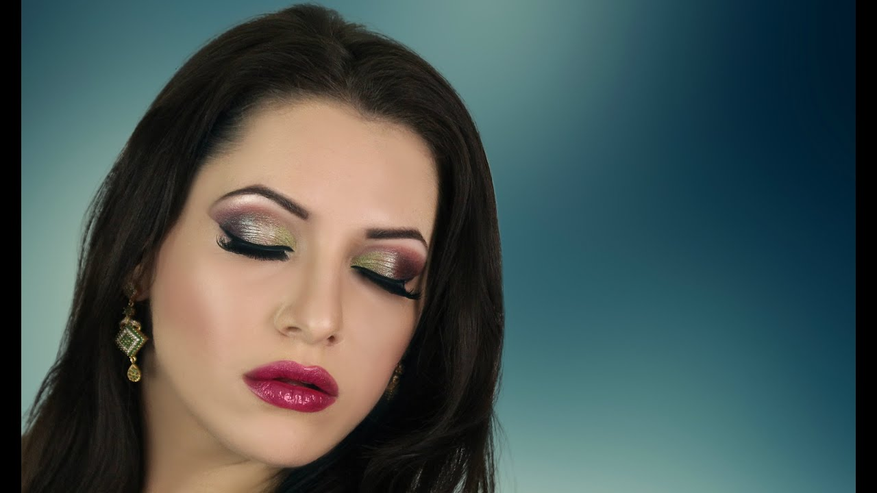 Green Purple Smokey Eye Makeup Tutorial Contemporary Asian